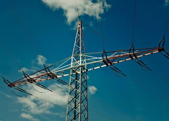 energia kabel pylon energetyka linie