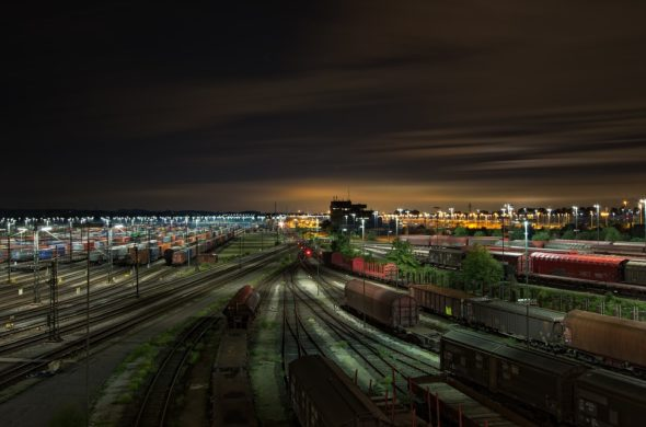 kolej przemysł transport
