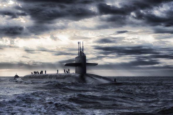 okręt zbrojeniówka manewry