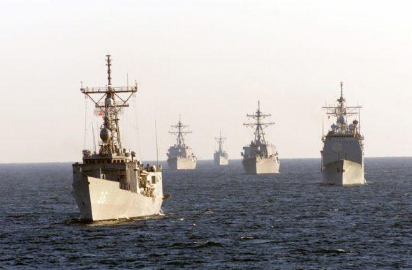 marynarka wojenna zbrojeniówka manewry