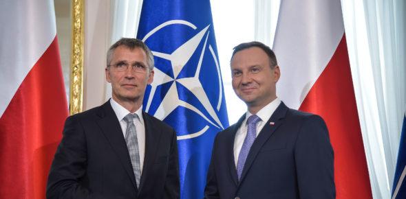 NATO Secretary General and the President of Poland – NATO Summit Warsaw