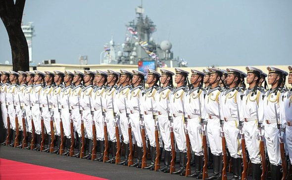 Chiny ćwiczenia wojskowe