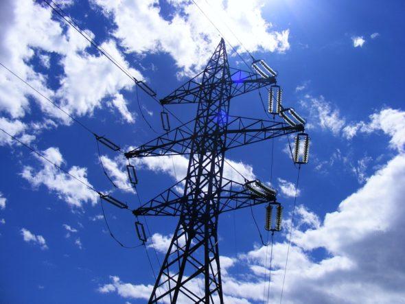 energia elektryczna energetyka linia