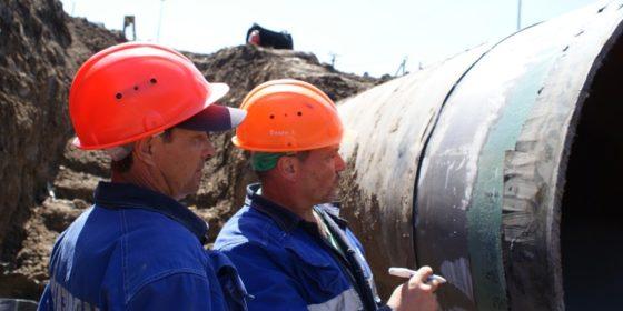 Kontrola gazociągów. fot. Gazprom