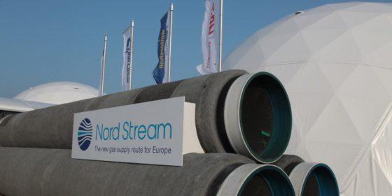 Rury Nord Stream. fot. Gazprom