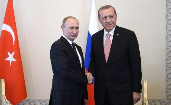 Putin Erdogan Petersburg