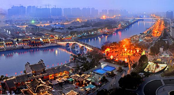 Wielki Kanał w Hangzhou