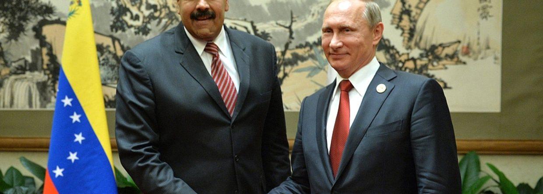 Nicolas Maduro i Władimir Putin. Fot. Kremlin.ru