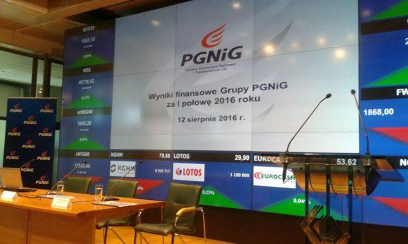 PGNIG konferencja wynikowa 12.08