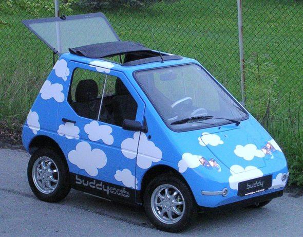 """Projekt norweskiego pojazdu elektrycznego """"buddy"""""""