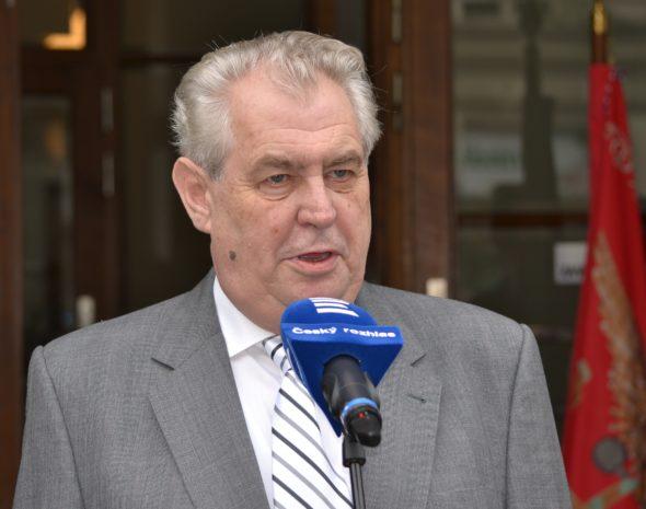Czechy Miloš_Zeman_Rozhlas_2013