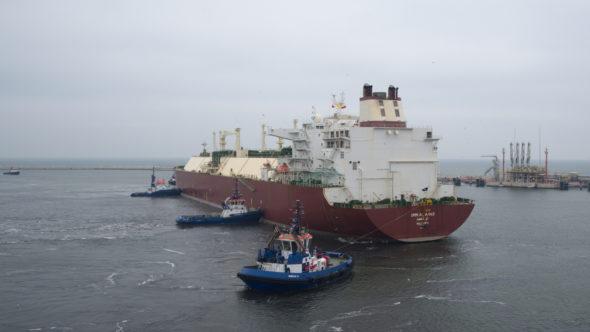terminal LNG Gazowiec w Świnoujściu. Źródło: Gaz-System