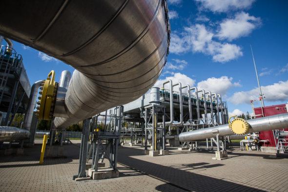 Tłocznia gazu  Litwa
