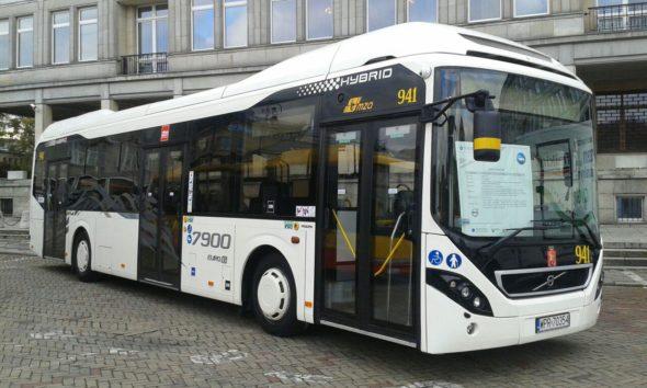 autobus elektryczny hybrydowy elektromobilność komunikacja miejska transport
