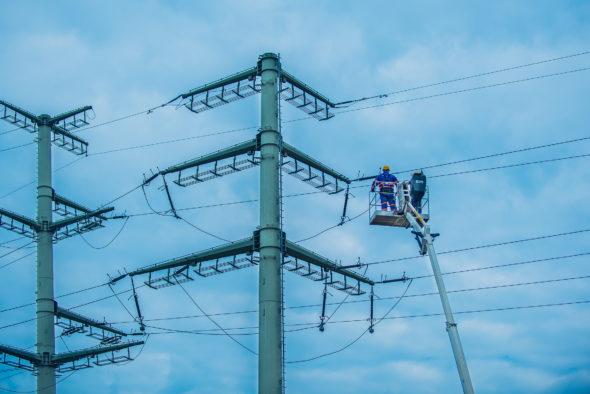 linie linia energetyczna Tauron