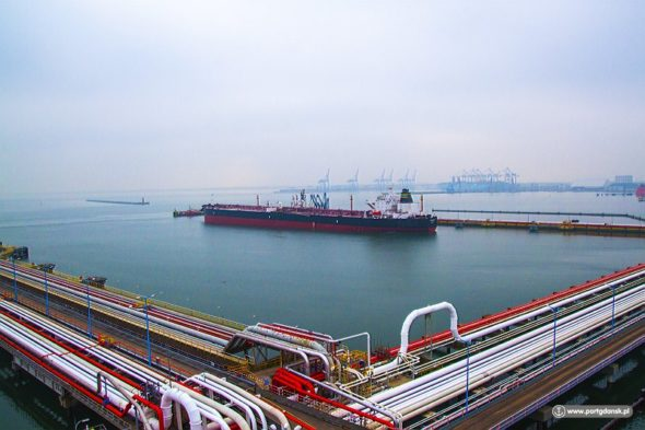Tankowiec Vilamoura fot.: Port Gdańsk