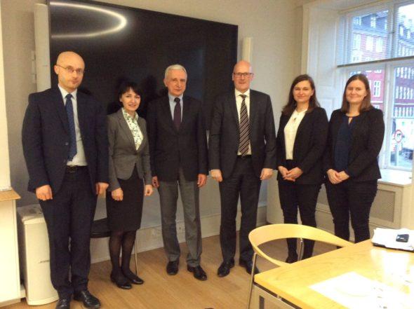 Pełnomocnik rządu ds. strategicznej infrastruktury energetycznej, Piotr Naimski podczas wizyty w Danii