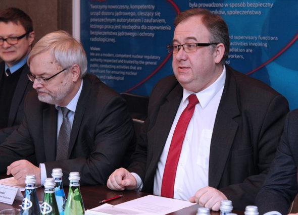 Polska Agencja Atomistyki wizyta z USA