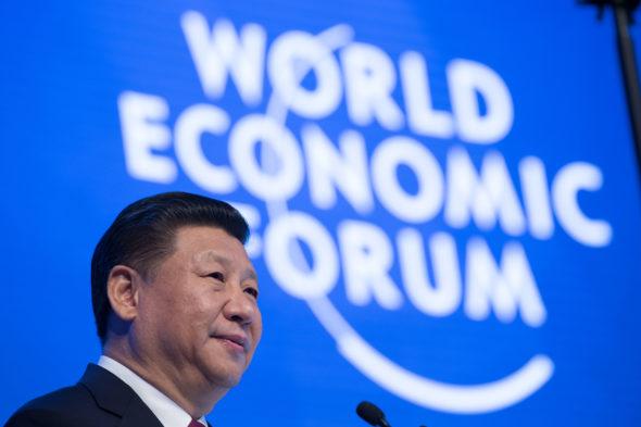 Xi Jingping WEF