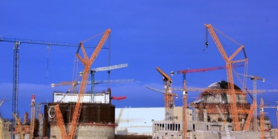 Budowa elektrowni jądrowej w Ostrowcu / fot. Białoruska Elektrownia Jądrowa