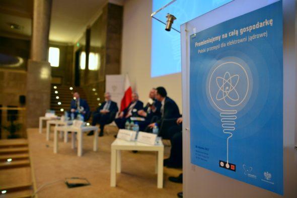 Konferencja poświęcona energetyce jądrowej. fot. Ministerstwo Energii
