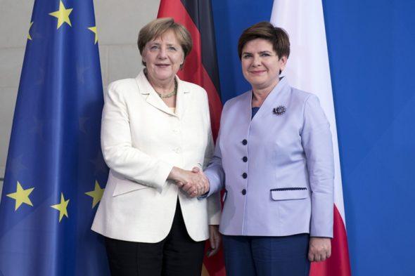 Angela Merkel Beata Szydło