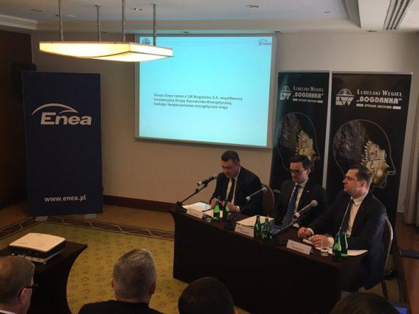 Prezentacja strategii Bogdanki, fot.  Enea
