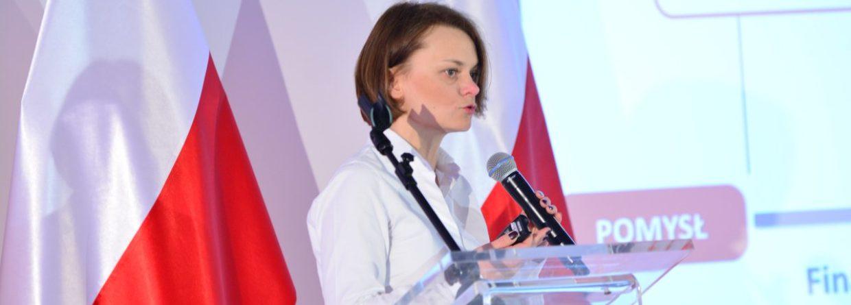 Wiceminister Rozwoju, Jadwiga Emilewicz, fot. Ministerstwo Energii