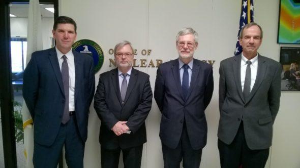 Wiceminister Energii Andrzej Piotrowski spotkał się 8 lutego 2017 r. w Waszyngtonie z przedstawicielami Departamentu Energii USA. Fot. Ministerstwo Energii