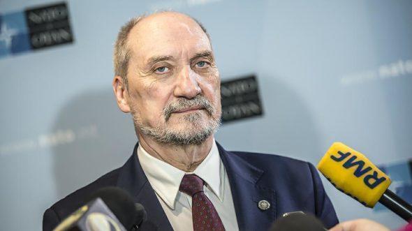 Fot. Ministerstwo Obrony Narodowej, Macierewicz