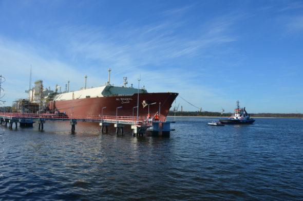 20170322_Trzynasta dostawa LNG 1