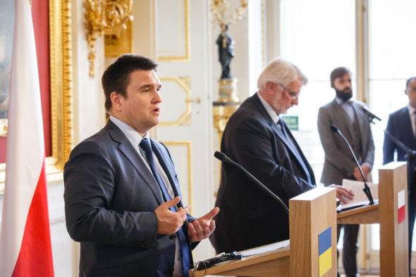 Klimkin Ukraina Waszczykowski Polska