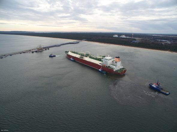 Terminal LNG gazoport