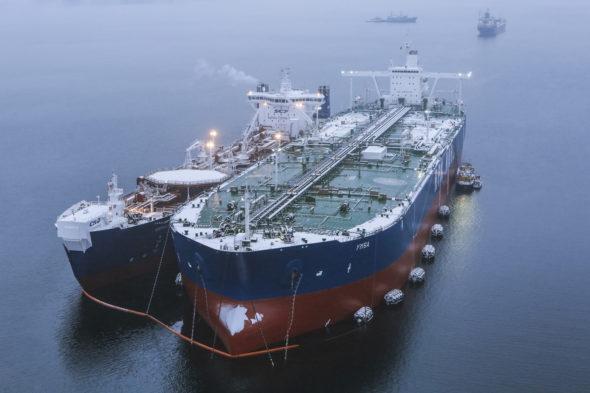 tankowiec Gazprom Nieft