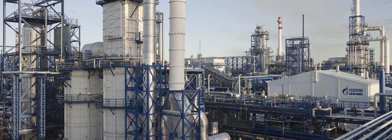 Rafineria. Fot. Gazprom Nieft