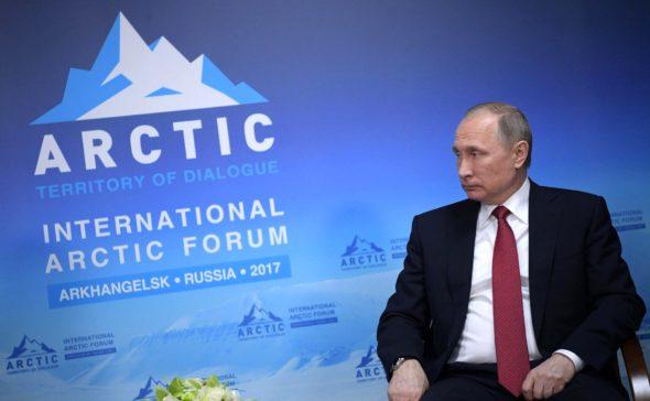 Władimir Putin Arktyka