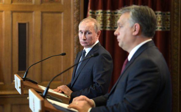 Władimir Putin Viktor Orban