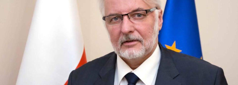 Witold Waszczykowski, fot. Ministerstwo Spraw Zagranicznych