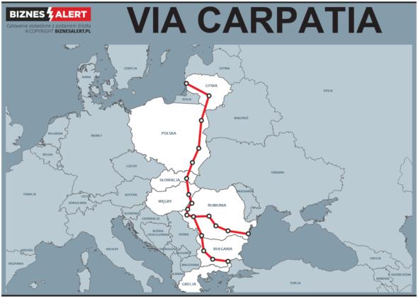 grafika Via Carpatia