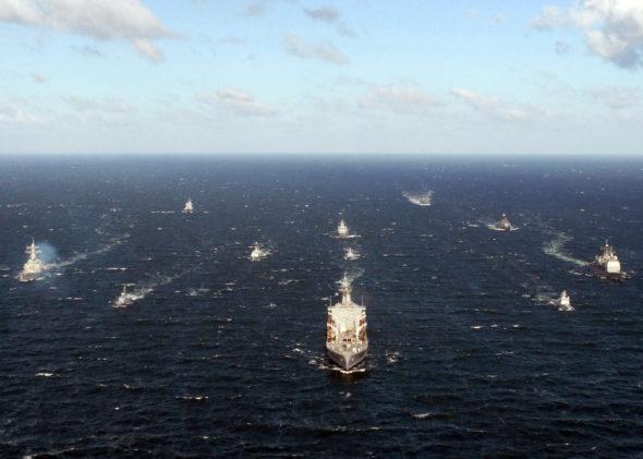 okręty flota wojsko marynarka