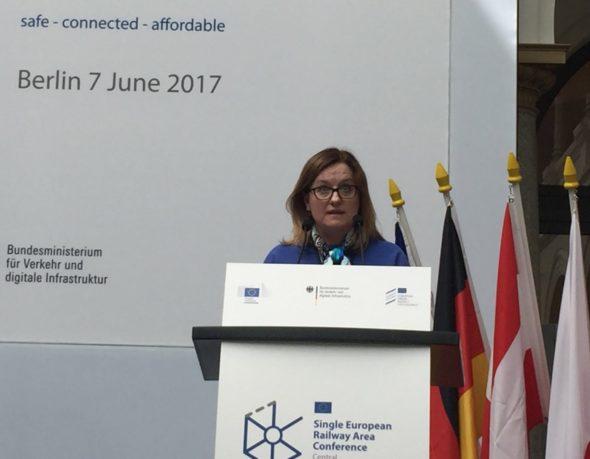 Wiceminister Justyna Skrzydło otworzyła konferencję SERA w Berlinie