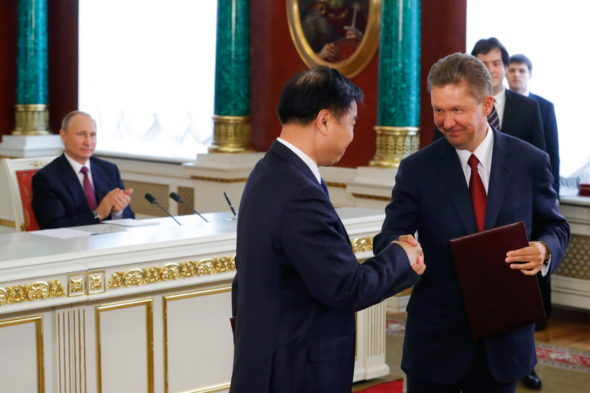 Presidents of Russia and China meet in Moscow