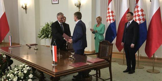 Podpisanie Memorandum o współpracy Plinacro z Gaz System