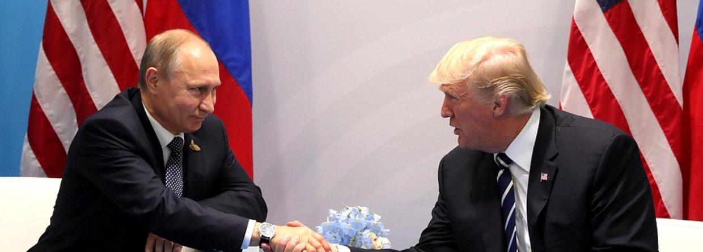 Władomir Putin Donald Trump