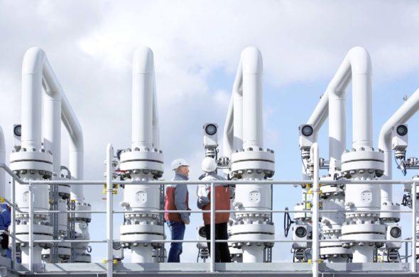 EWE gas processing plant in Jemgum, Germany_LYS243853_2