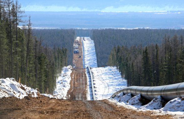 Siła Syberii w budowie