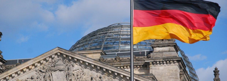 Niemcy flaga parlament