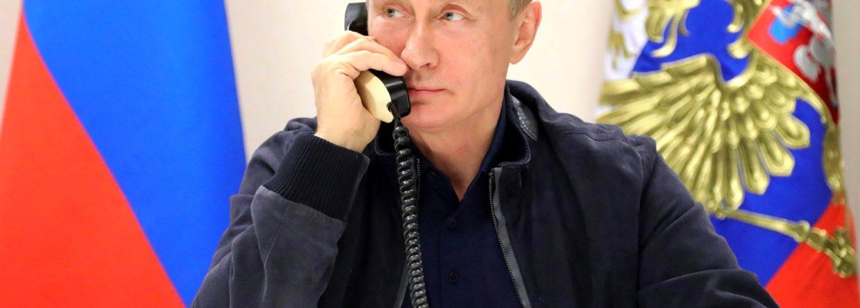 Władimir Putin telefon