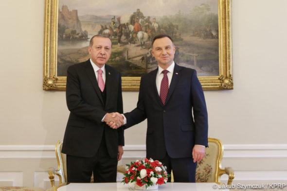Duda Erdogan Polska Turcja