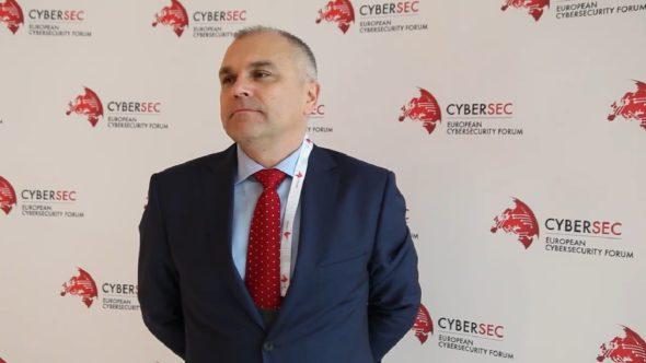 Dariusz Mikołajczyk dyrektor ds. bezpieczeństwa w PKP Energetyka.